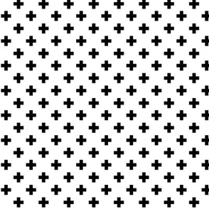 geo joe no.27 crosses + plus tribal aztec triangle geometric modern pattern