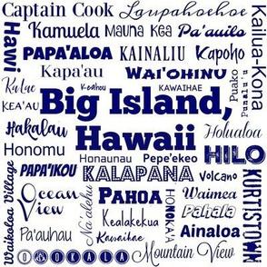 Cities of Big Island, Hawaii