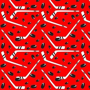 hockey red