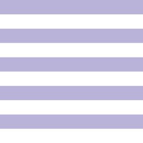 wide stripes lavender