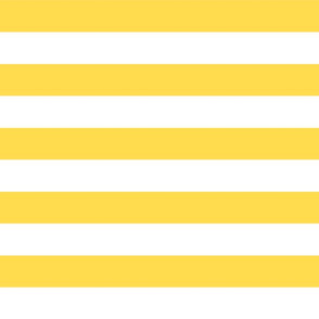 wide stripes butter yellow