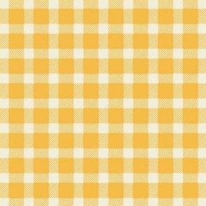 Lumberjack Plaid in Yellow