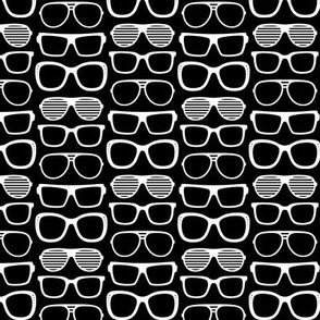 sunglasses reversed » black + white no.2