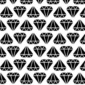 diamonds forever » black + white no.3