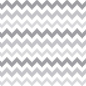 knitted grey no.2 LG chevron
