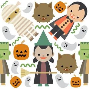 Halloween Fun White Background