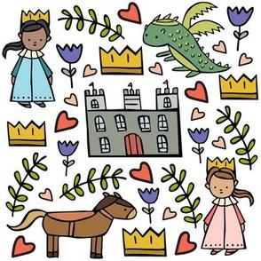Princess Dreamer Doodles