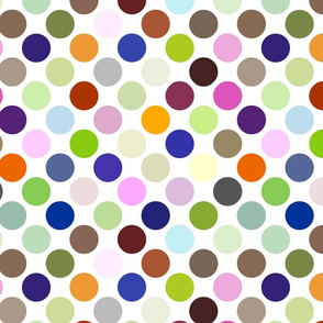 Party Dots Medium - Diagonal 150