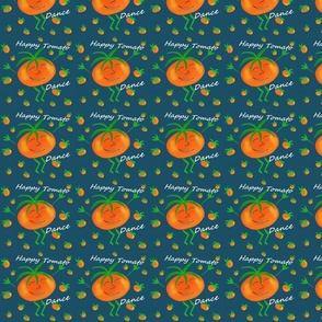 Nerdy Happy Tomato  Dance dark blue