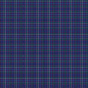 """Massachusetts tartan, 1/2"""" (1:12 scale)"""