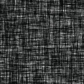 blackest black linen