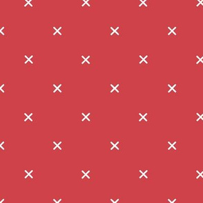 X // Christmas Red