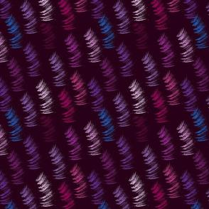 Violet strokes
