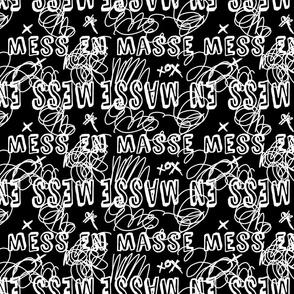 Mess En Masse Black