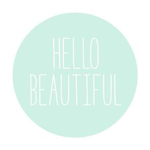 hello beautiful mint light mod baby » plush + pillows // fat quarter