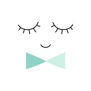mr. sleepy eyes mint mod baby » plush + pillows // fat quarter