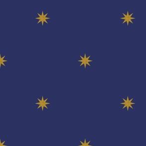 Medieval Stars ~ Gold on Muskateer