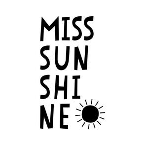 miss sunshine black mod baby » plush + pillows // fat quarter