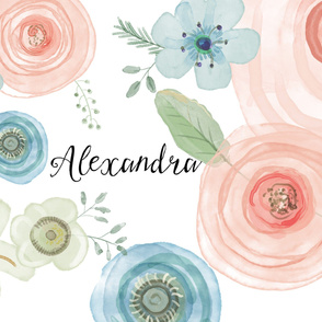 Floral Alexandra