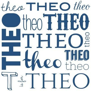Personalized Theo Name