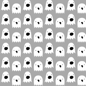 ghosts on light slate grey » halloween