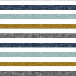 multi stripes    with gold