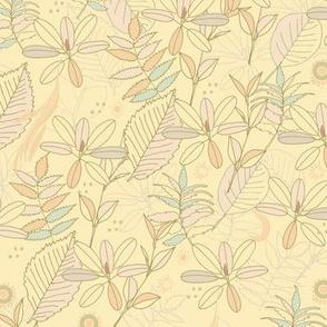 Leaf dance pattern