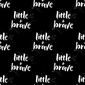 little and brave || black