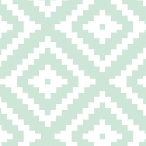mint aztec || the willow woods collection