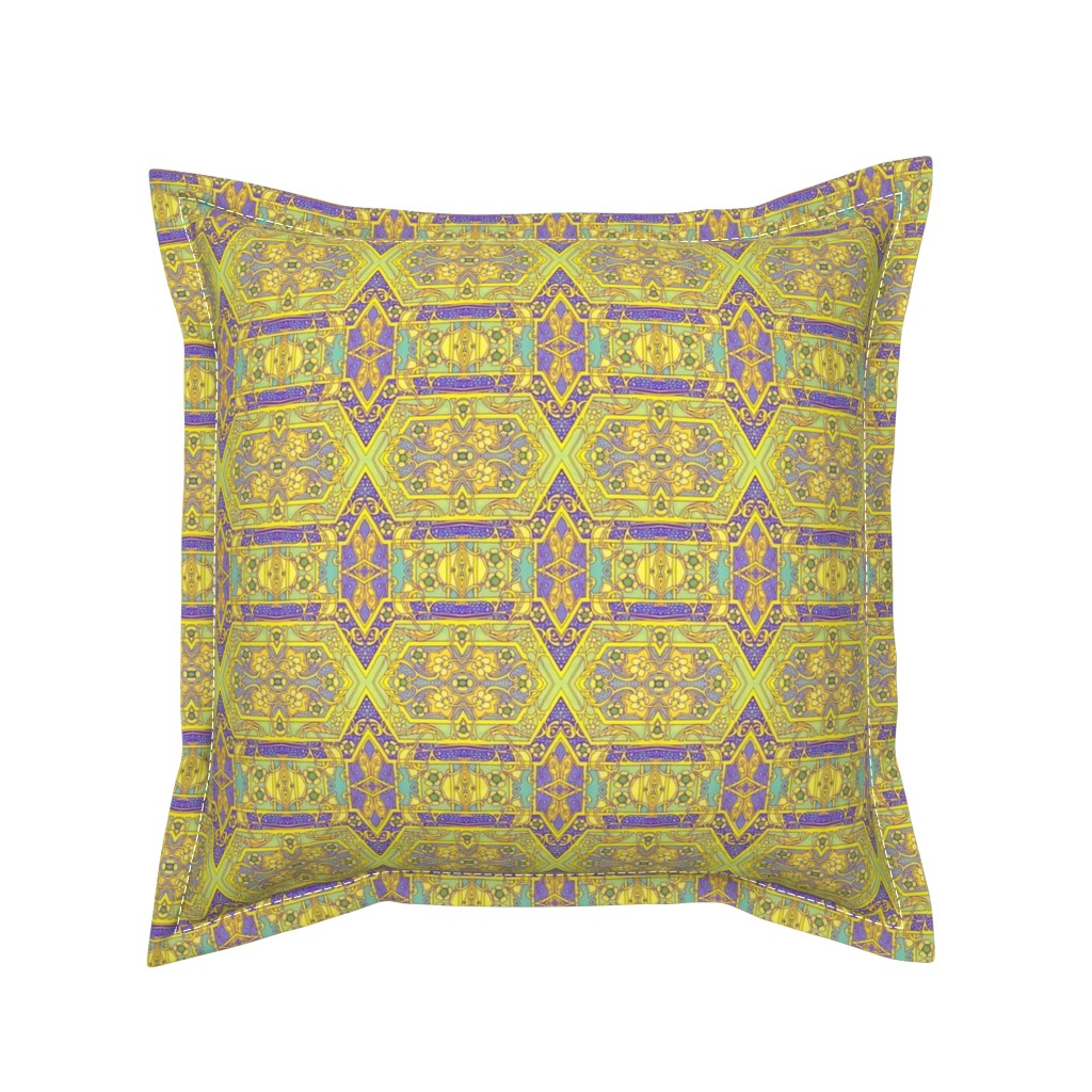 Serama Throw Pillow featuring Tell Midas to Keep His Hands to Himself by edsel2084
