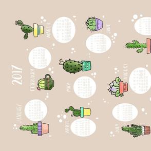 2017 Cactus and Succulent Calendar
