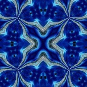 Blue Barbed