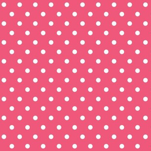 halloween » dotty white on hot pink