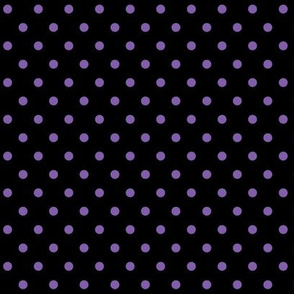 halloween » dotty purple on black