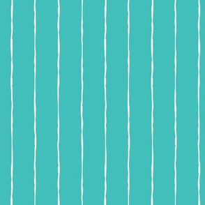 pinstripes white on teal blue » halloween