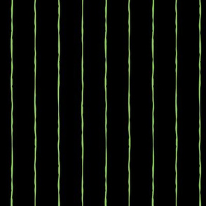 pinstripes lime green on black » halloween