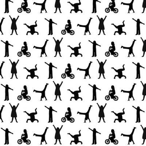 Play Time Silhouettes- Small