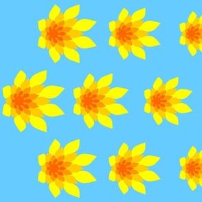 00576792 : flame flower border