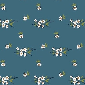 Ditsy Floral - Teal