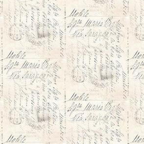 Vintage Italian Writing Postcard