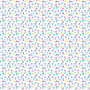 Watercolor Bubbles small