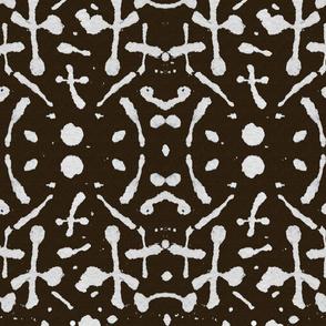 Mudcloth  (chocolate)