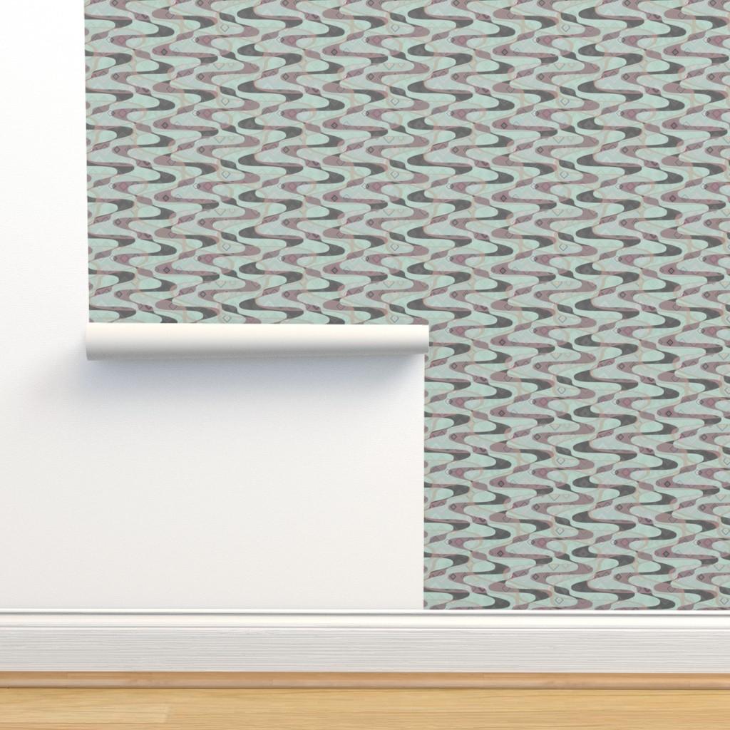 Isobar Durable Wallpaper featuring Arroyo - vapor by ormolu
