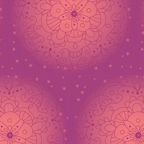 mandala purple