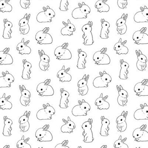 rabbit pattern 3