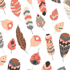 Tribal feathers 004