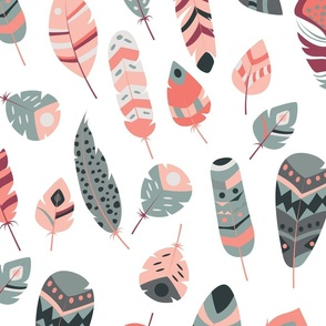 Tribal feathers 006