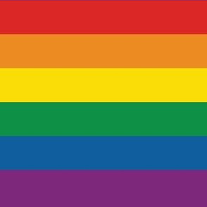 Rainbow Pride Stripes