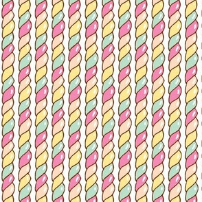 Twisted Candy (Pastel)