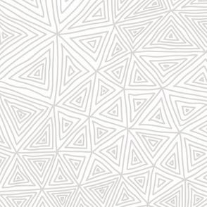 Warm Gray Triangle